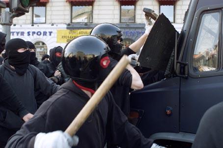 Bild: Demo zum Erhalt des Ungdomshuset